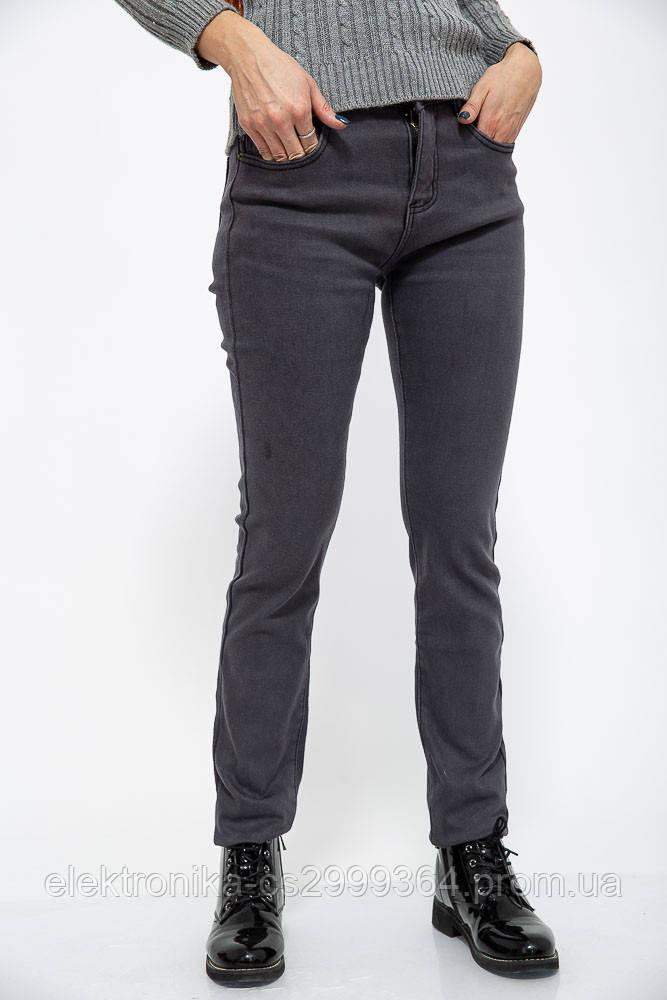 Джинсы женские 129R110 цвет Серый