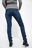 Джинсы женские 129R102 цвет Темно-синий, фото 3