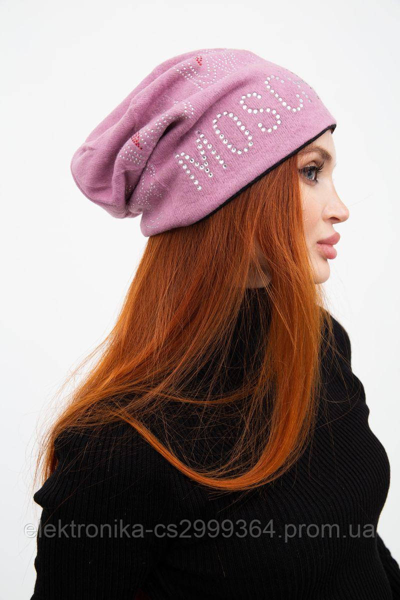 Шапка женская 126R036 цвет Розовый