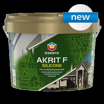 Eskaro Akrit F Silicone Краска для минеральных и оштукатуренных фасадов