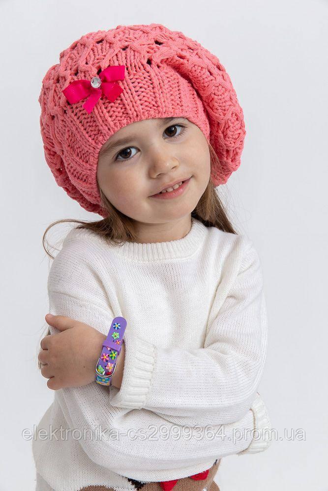 Шапка детская 126R006 цвет Коралловый