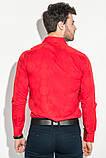 Рубашка 50PD10-2 цвет Красный, фото 2