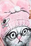 Свитшот женский 123R18022 цвет Розовый, фото 5