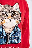 Батник женский 123R18020 цвет Красный, фото 5
