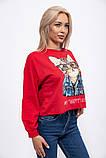 Батник женский 123R18020 цвет Красный, фото 3