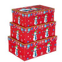 Набор коробок из 3 шт. 28*20*11см (8210-002)