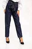 Джинсы женские 123R17759 цвет Синий, фото 5