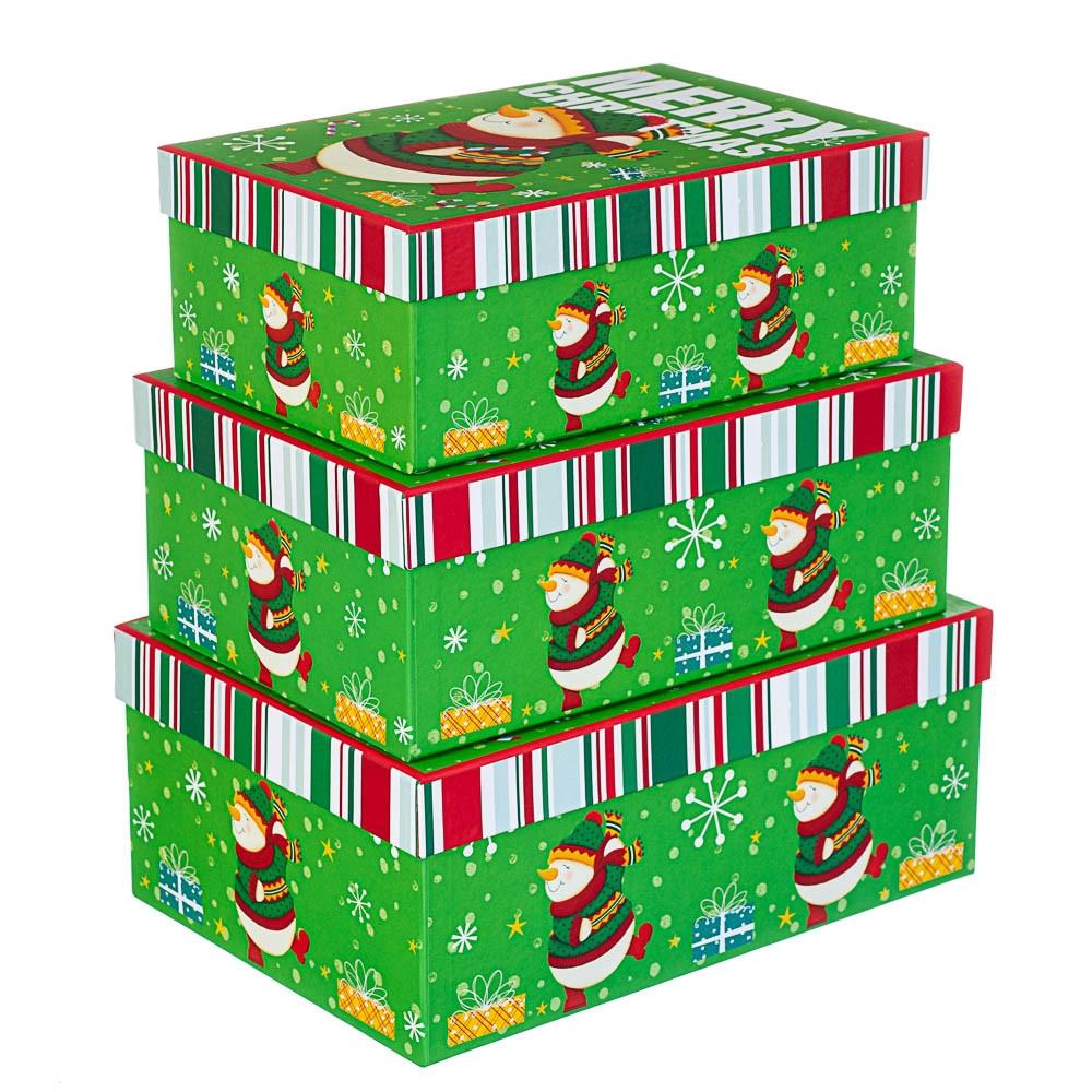 Набор коробок из 3 шт. 28*20*11см (8210-004)
