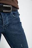 Джинсы мужские 123R16313 цвет Синий, фото 5