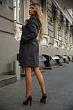 Пальто женское 153R970 цвет Темно-серый, фото 3