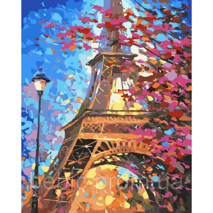 """Картина по номерам """"Краски Парижа"""" 40х50 см"""