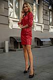 Платье 153R1108 цвет Красный, фото 2