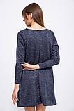 Платье 153R1089 цвет Темно-синий, фото 4