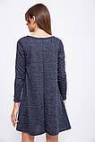 Платье 153R1089 цвет Темно-синий, фото 3