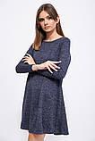 Платье 153R1089 цвет Темно-синий, фото 2