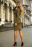 Платье 153R1082 цвет Хаки, фото 3