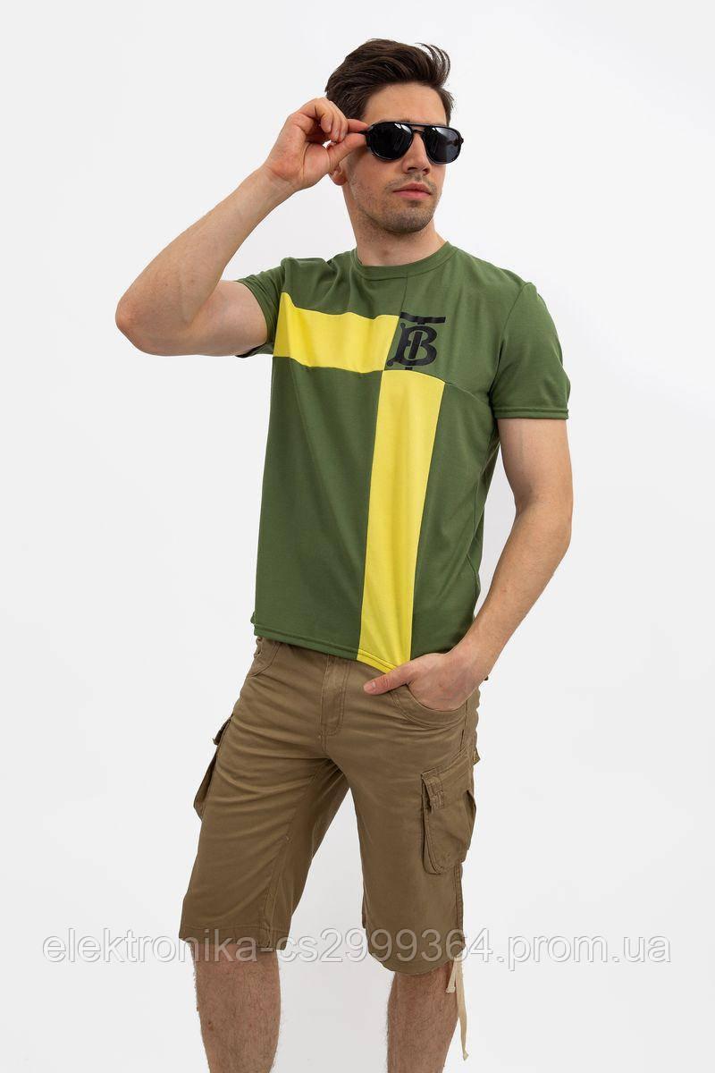 Футболка мужская 119R809 цвет Зеленый