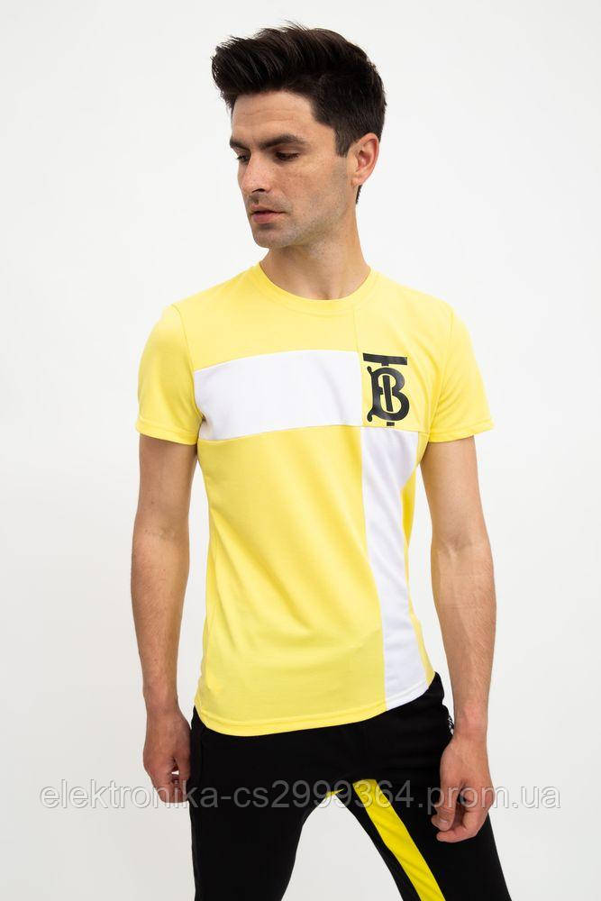 Футболка мужская 119R809 цвет Желтый
