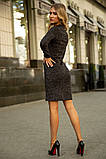 Платье 153R1082 цвет Темно-серый, фото 3