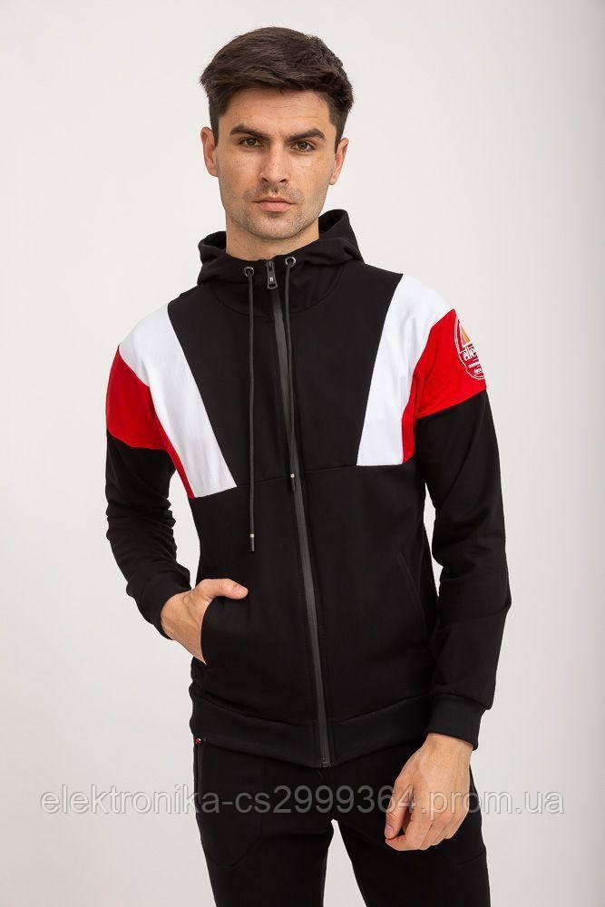 Спорт кофта мужская 119R775 цвет Черный