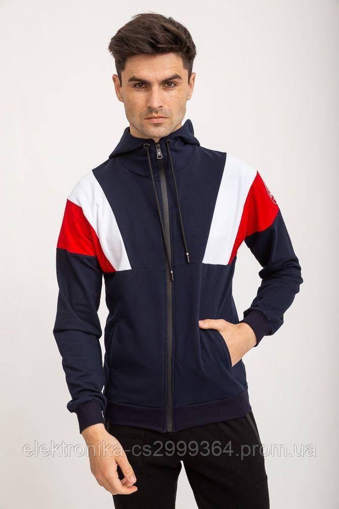 Спорт кофта мужская 119R775 цвет Синий