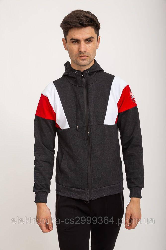 Спорт кофта мужская 119R775 цвет Серый