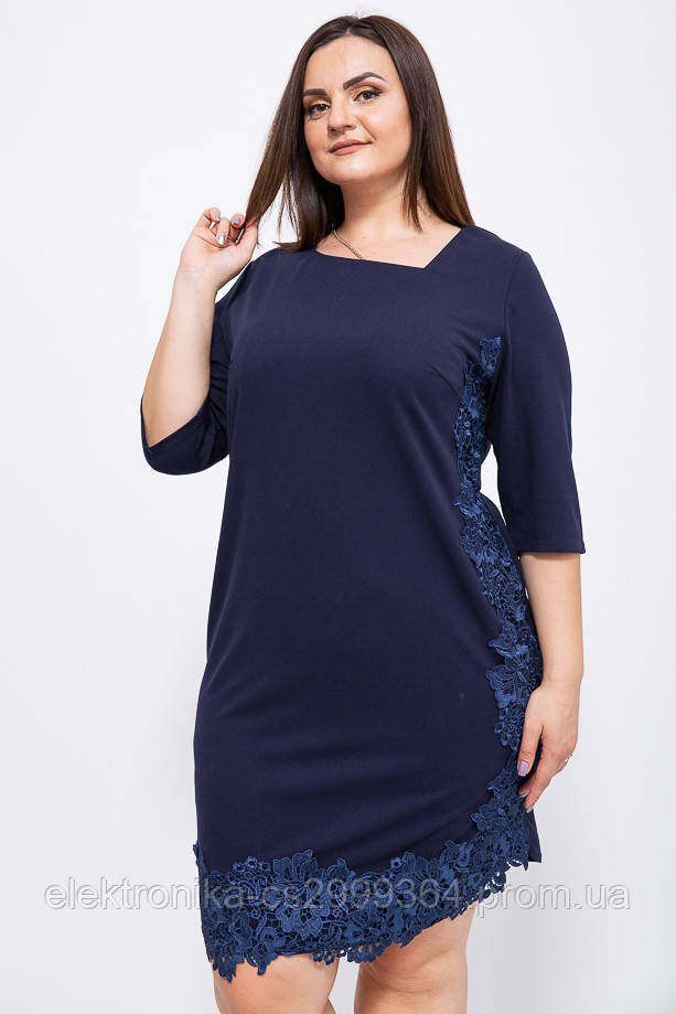 Платье 150R651 цвет Темно-синий
