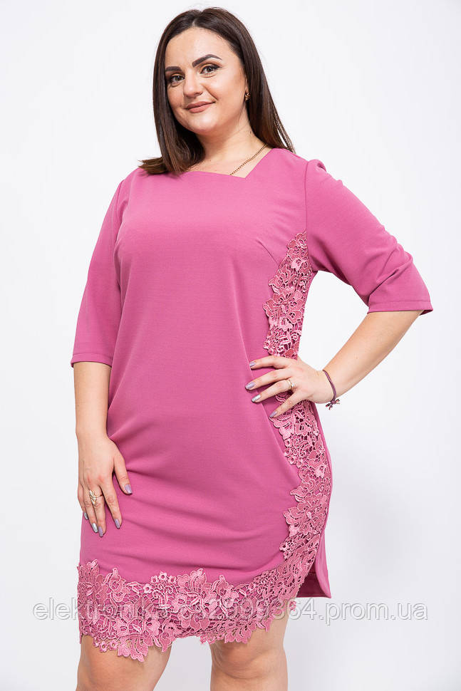 Платье 150R651 цвет Темно-коралловый