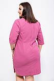 Платье 150R651 цвет Темно-коралловый, фото 3