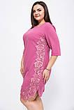 Платье 150R651 цвет Темно-коралловый, фото 2