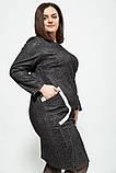 Платье женское 150R647 цвет Черный, фото 3