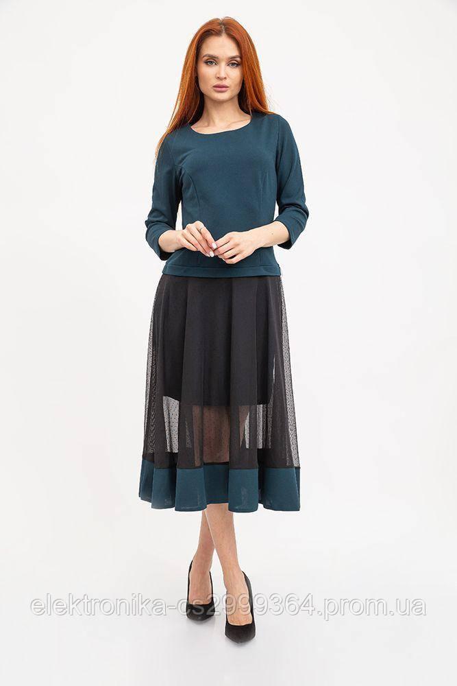Платье женское 119R461 цвет Темно-зеленый