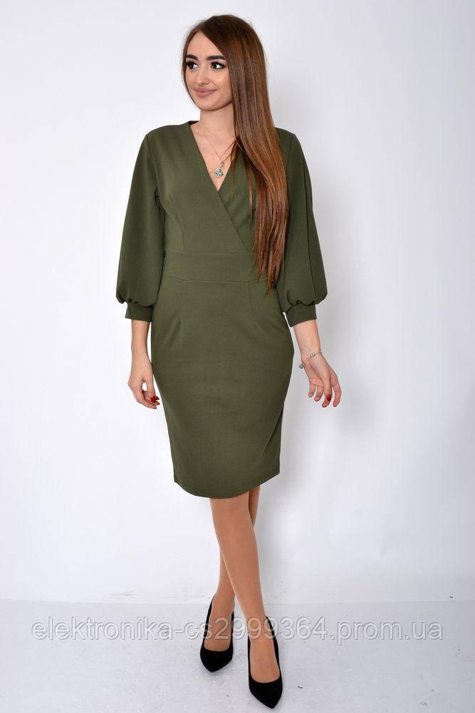 Платье женское 119R459 цвет Хаки
