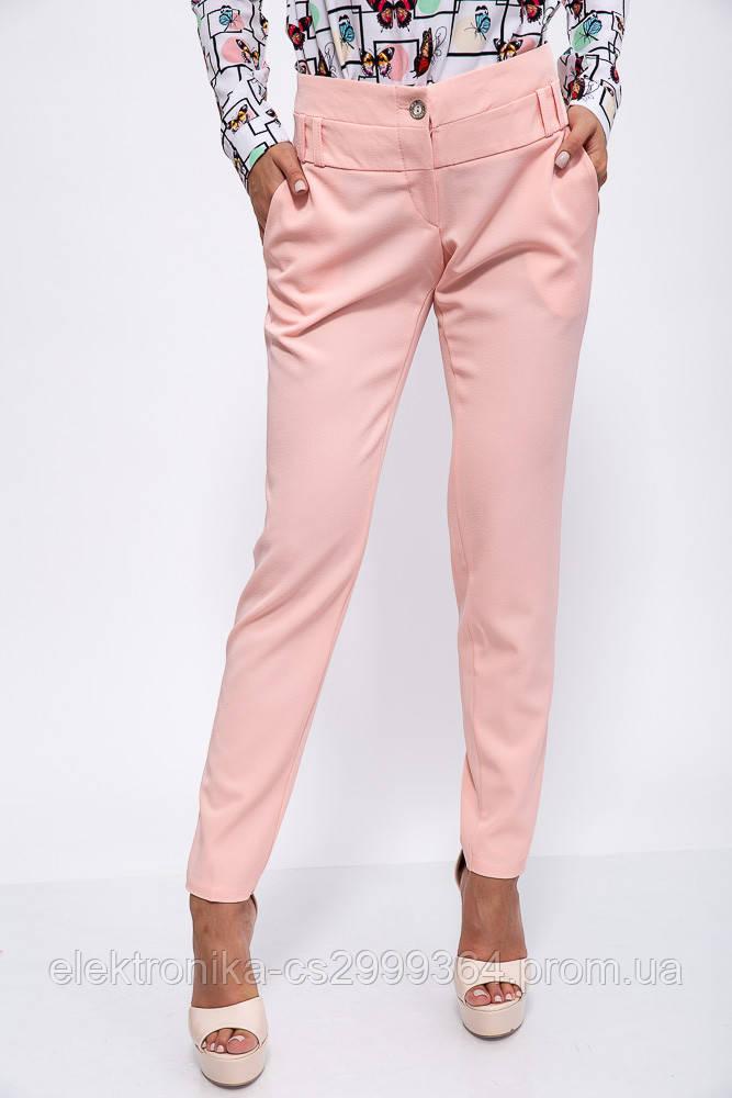 Брюки женские 150R0100 цвет Персиковый