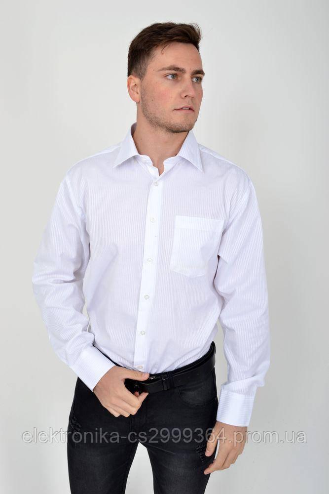 Рубашка 15#LS цвет Белый