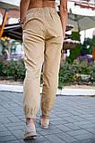 Брюки женские 149R9301-9 цвет Бежевый, фото 4