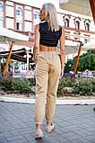 Брюки женские 149R9301-9 цвет Бежевый, фото 5