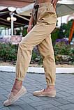 Брюки женские 149R9301-9 цвет Бежевый, фото 6