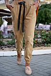 Брюки женские 149R9301-9 цвет Бежевый, фото 8