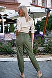 Брюки женские 149R9301-6 цвет Хаки, фото 5