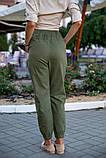 Брюки женские 149R9301-6 цвет Хаки, фото 4