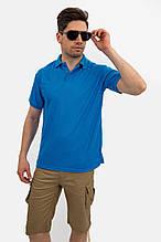 Поло мужское 141R001 цвет Голубой