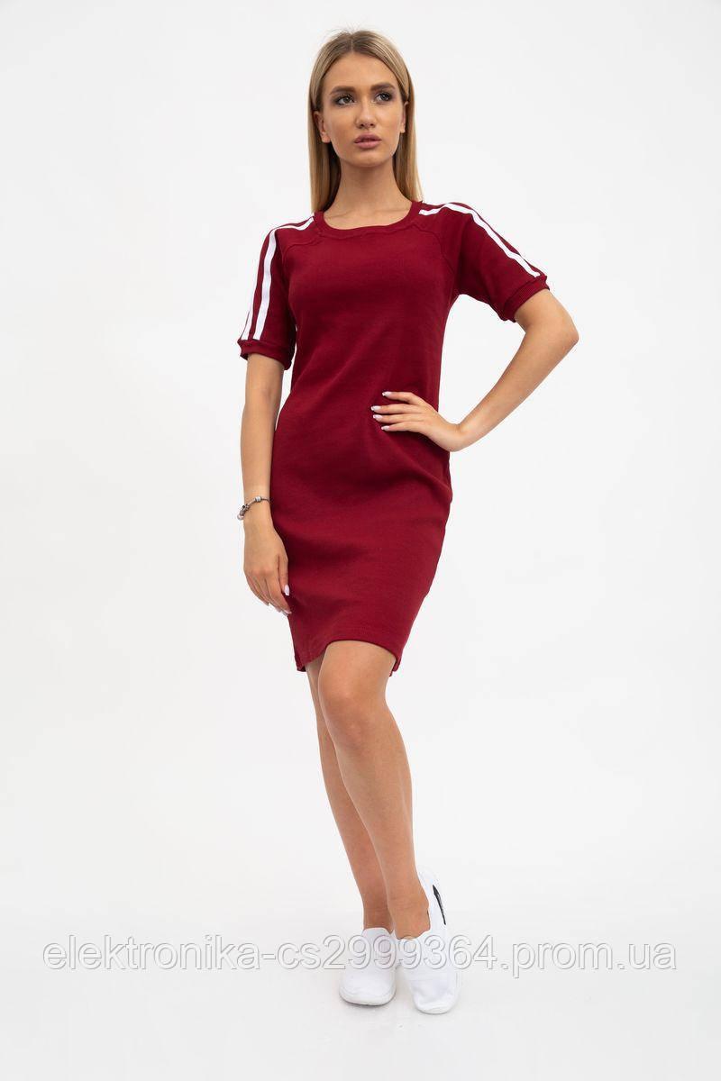 Платье женское 119R28 цвет Светло-бордовый