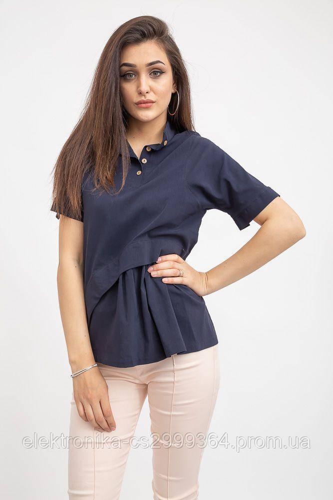 Блуза женская 119R187 цвет Темно-синий