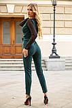 Комбинезон женский 119R177 цвет Темно-зеленый, фото 4