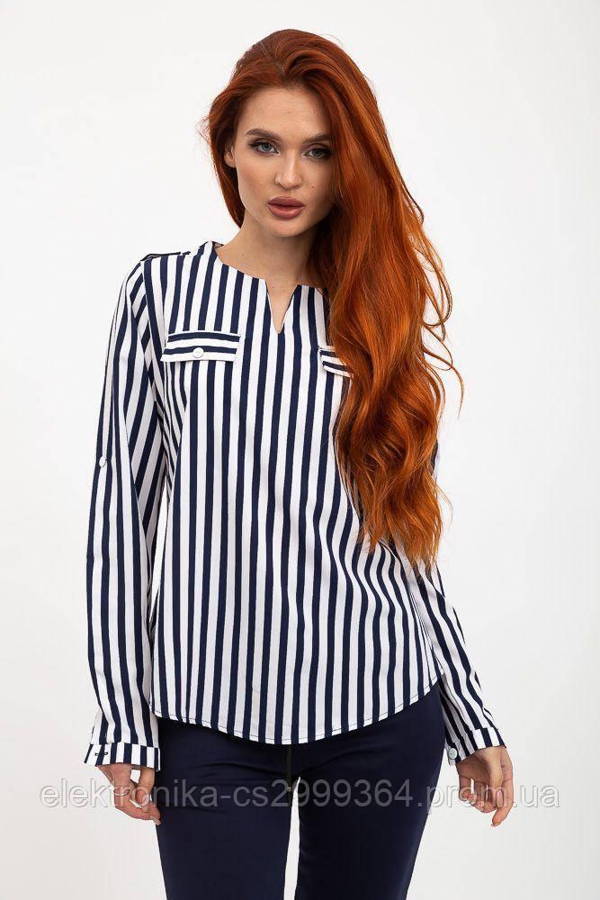 Блуза женская 119R118S цвет Сине-белый