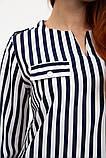Блуза женская 119R118S цвет Сине-белый, фото 5