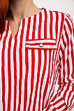 Блуза женская 119R118S цвет Красно-белый, фото 2