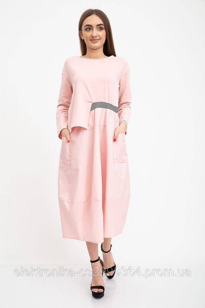 Платье женское 133R9123 цвет Розовый