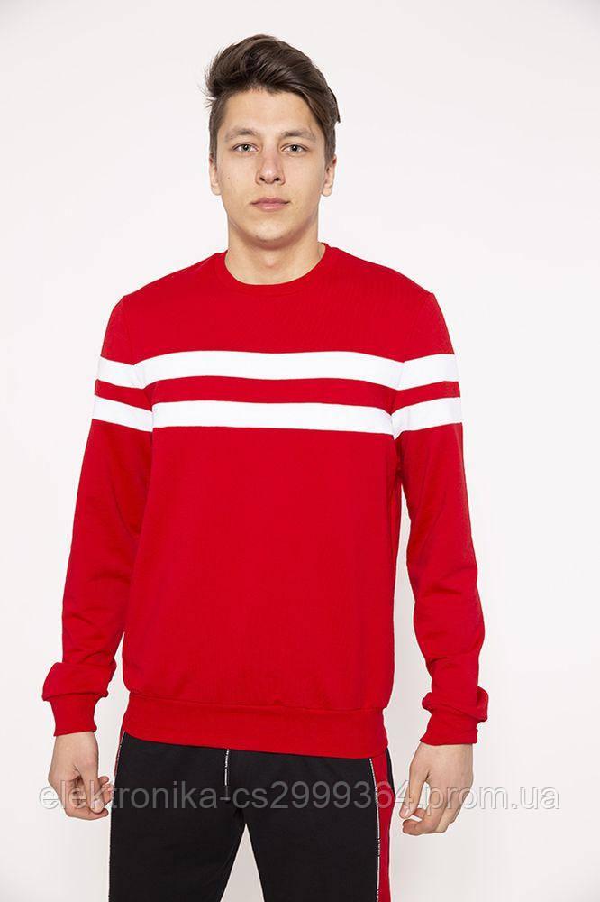 Свитшот мужской 119R042(732) цвет Красный